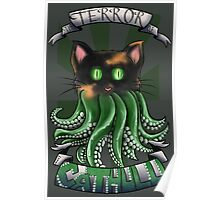 Creepy Cathulu Poster