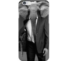 Elephant-man iPhone Case/Skin