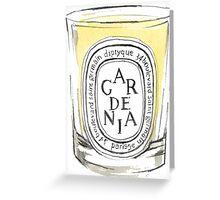 Gardenia {candle} Greeting Card