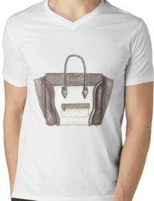 Bag {1} Mens V-Neck T-Shirt