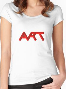 Isomeric Art Women's Fitted Scoop T-Shirt