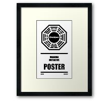 Dharma Initiative Products Framed Print