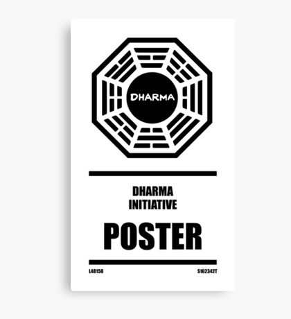 Dharma Initiative Products Canvas Print