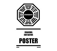 Dharma Initiative Products Photographic Print