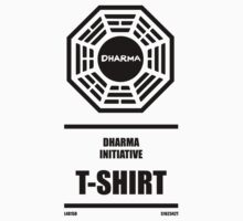 Dharma Initiative Products One Piece - Short Sleeve