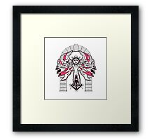 ROYAL ARCH OF THE SON Framed Print