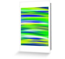 Zesty Sky Abstract Greeting Card