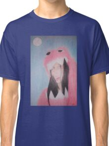 Beautiful in Pink Monster Suit (showing teeth) Classic T-Shirt
