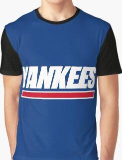 Ny Yankees Ny Giants logo swap Graphic T-Shirt