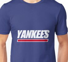 Ny Yankees Ny Giants logo swap Unisex T-Shirt