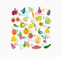 Fruit and Veggie Alphabet Unisex T-Shirt