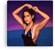 Barbara Carrera Painting Canvas Print