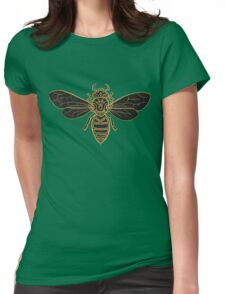 Mandala Bees Womens Fitted T-Shirt