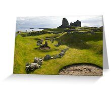 Jarlshof Shetland Islands Scotland UK Greeting Card