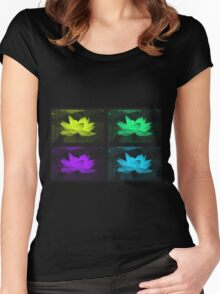 Lotus 3 Women's Fitted Scoop T-Shirt