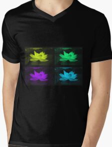 Lotus 3 Mens V-Neck T-Shirt