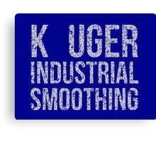 Seinfeld: Kruger Industrial Smoothing...K-Uger! Canvas Print