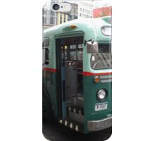 Vintage 1958 Bus, New York Transit System, Herald Square, New York City iPhone Case/Skin