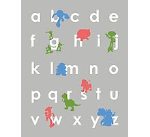 Toy Story ABCs Photographic Print