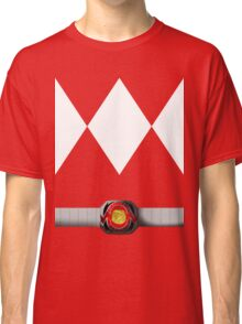 Mighty Morphin Pokémon Rangers - Red Tyrantrum - Morpher Classic T-Shirt