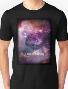Space cat sees you sinning T-Shirt