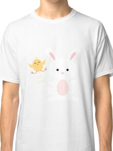 Chick and Bunny Easter Apparel Classic T-Shirt