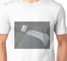 Aerial View, Brookfield Place, Skating Rink, One World Observatory, World Trade Center Observation Deck, Lower Manhattan, New York City Unisex T-Shirt