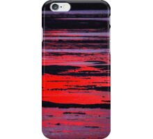 The sea changes colour at sunset - Gleeson's Landing, YP iPhone Case/Skin