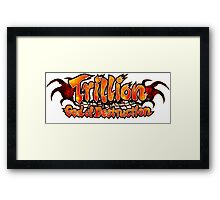 Trillion God of Destruction Framed Print