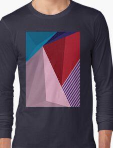Abstract Modernist Long Sleeve T-Shirt