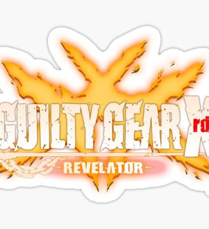 guilty gear xrd revelator Sticker
