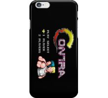 Contra Title iPhone Case/Skin