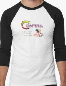 Contra Title Men's Baseball ¾ T-Shirt