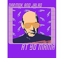 Picard Throwing Shade Photographic Print