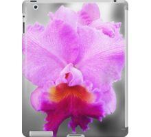 Pink Cattleya sc iPad Case/Skin