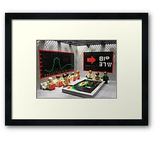 The Planet Crepes Culum Framed Print