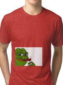 Rare Pepe Meme Tri-blend T-Shirt