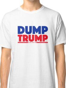 DUMP TRUMP 3 Classic T-Shirt