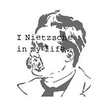 I Nietzsche in My life Photographic Print