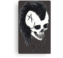 Seventies Punk Canvas Print