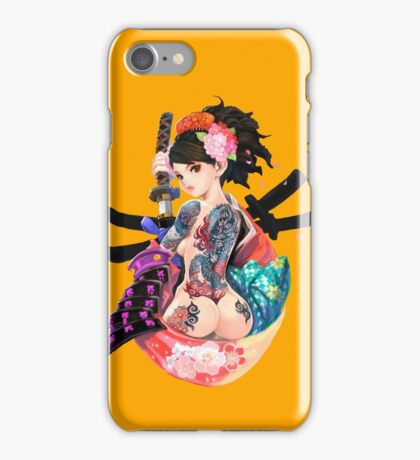 Yakuza Girl iPhone Case/Skin