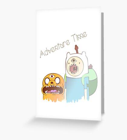 Adventure Time Trip Greeting Card