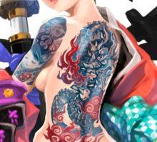 Yakuza Girl Sticker
