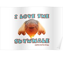 I Love the Skywhale Photograph Canberra Balloon Festival Poster