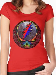 Grateful Dead Women's Fitted Scoop T-Shirt