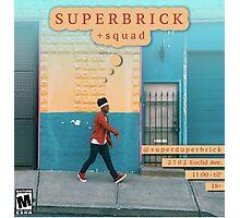 Super Duper Brick Photographic Print