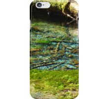 Glacier Water iPhone Case/Skin