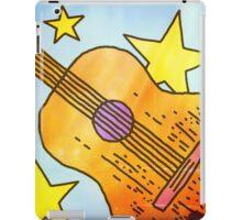 Guitar And Stars Summer iPad Case/Skin
