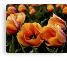 Unique Beauty - Flower Art Canvas Print