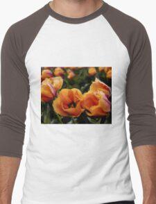 Unique Beauty - Flower Art Men's Baseball ¾ T-Shirt